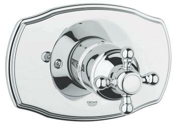 Geneva Pressure Balance Faucet Shower Faucet Trim Only by Grohe