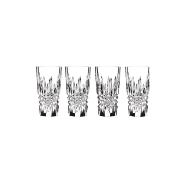 Lismore Diamond Crystal Shot Glass (Set of 4) by Waterford