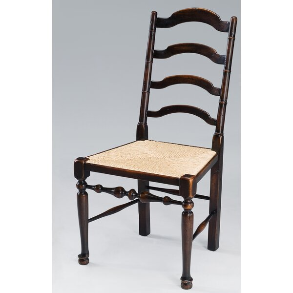 Riggs Solid Wood Dining Chair (Set of 2) by Bayou Breeze