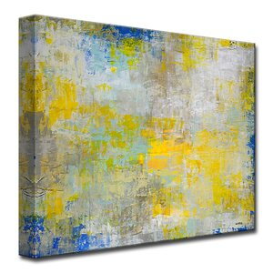 'The Day I Met You' by Norman Wyatt Jr. Painting Print on Wrapped Canvas by Ready2hangart