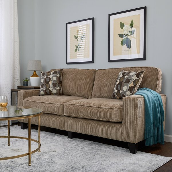 New Chic Palisades Sofa by Serta at Home by Serta at Home