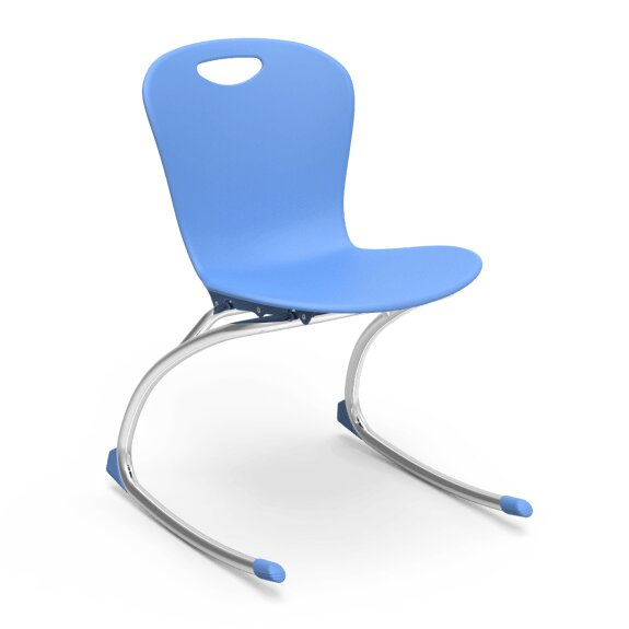 Zuma Plastic Classroom Chair (Set of 2) by Virco