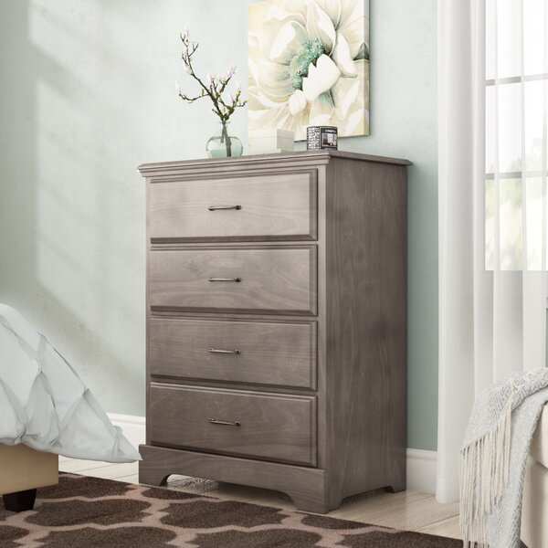 Ciara 4 Drawer Dresser by Grovelane Teen
