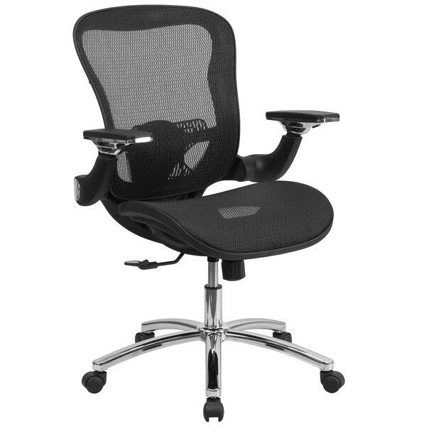 Wyncote Mid-Back Mesh Desk Chair by Symple Stuff