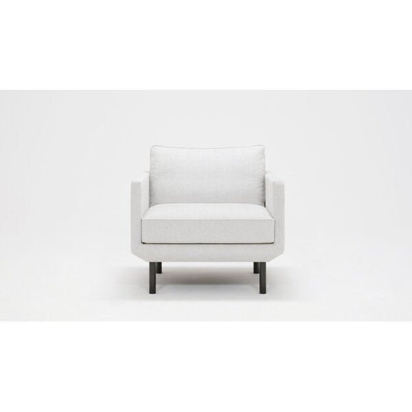 Plateau Feather Filled Club Chair by EQ3