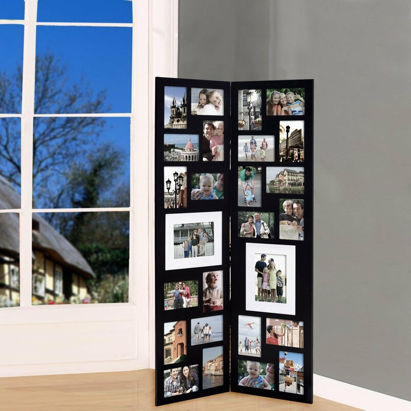 Latitude Run Pillar 26 Opening Decorative Wood Folding Floor ...