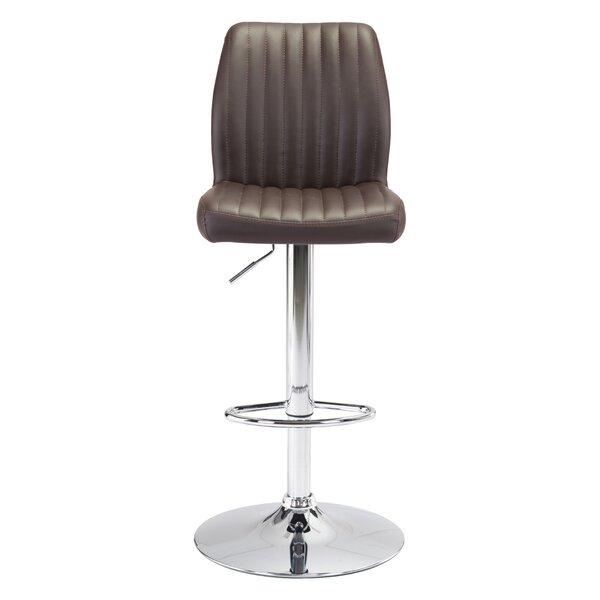 Joannie Adjustable Height Bar Stool by Orren Ellis