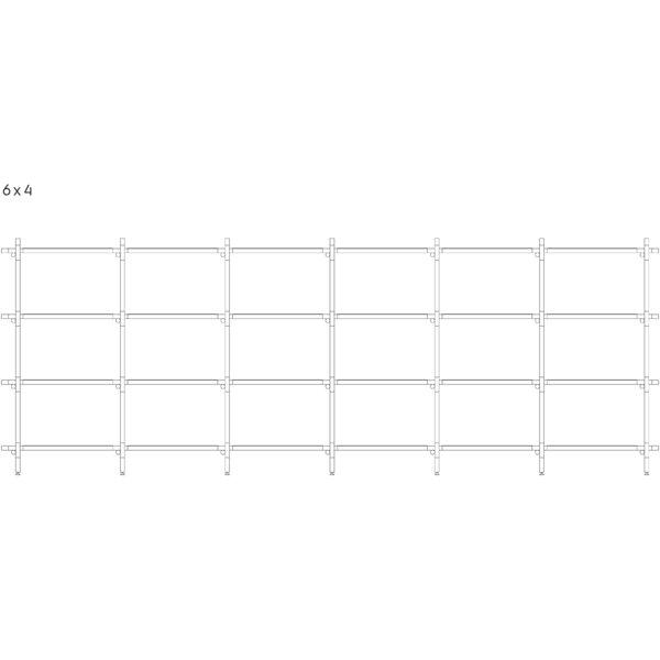 75.6 H x 118.2 W Stick System by Menu
