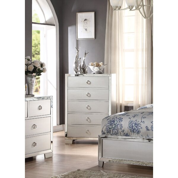 Hester 5 Drawer Chest by Rosdorf Park