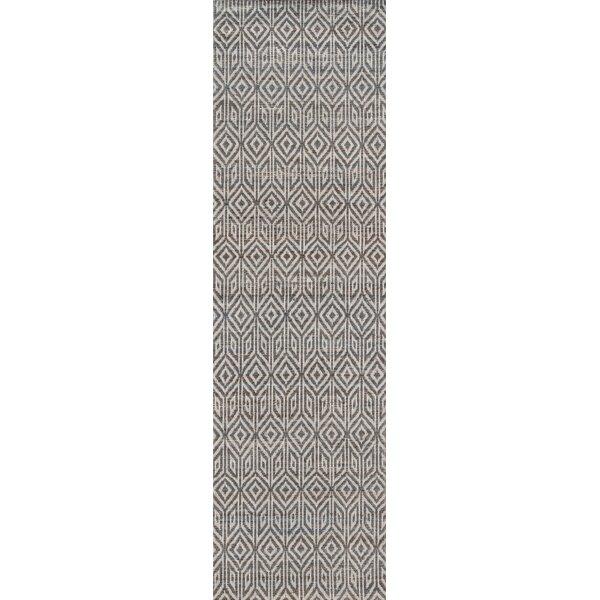 Supriya Hand-Woven Gray Area Rug by Gracie Oaks