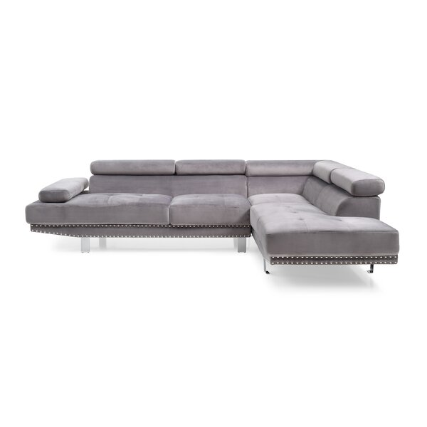 Dundee Right Hand Facing Sectional By Mercer41