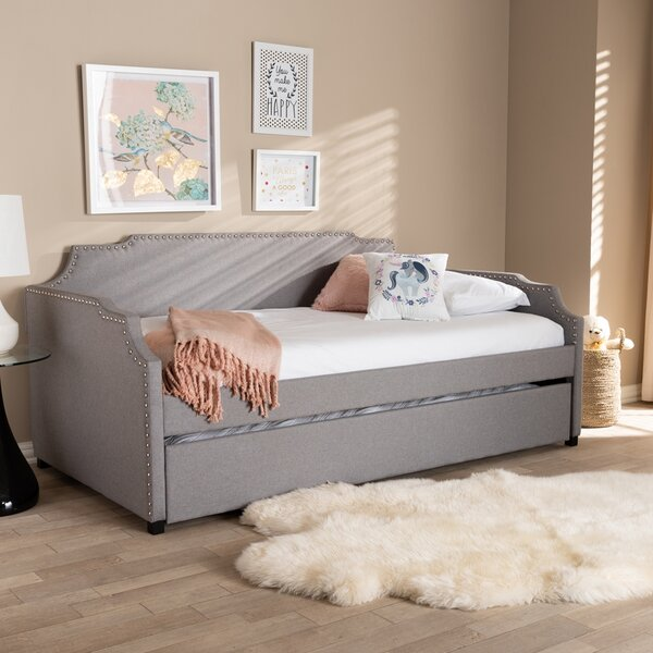 Arambula Twin Solid Wood Daybed With Trundle By Red Barrel Studio