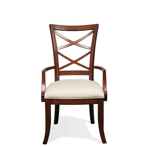 Alfred Bay Xx-Back Upholstered Dining Chair (Set of 2) by Bay Isle Home