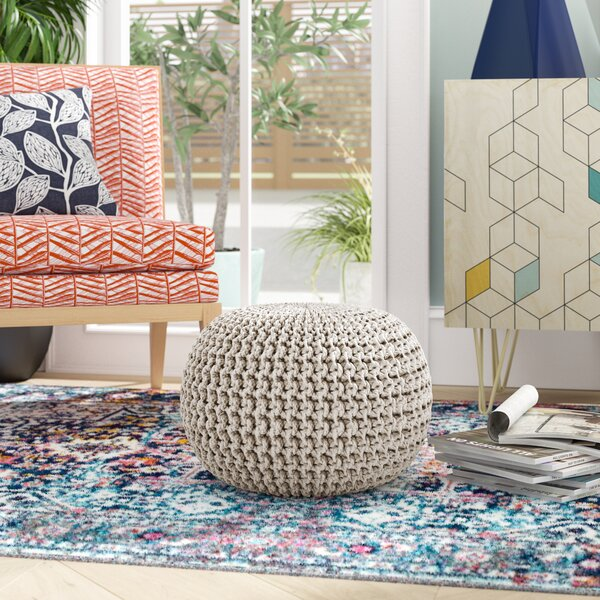 Anemone Rope Pouf by Ivy Bronx