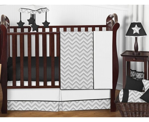 Zig Zag 11 Piece Crib Bedding Set by Sweet Jojo Designs