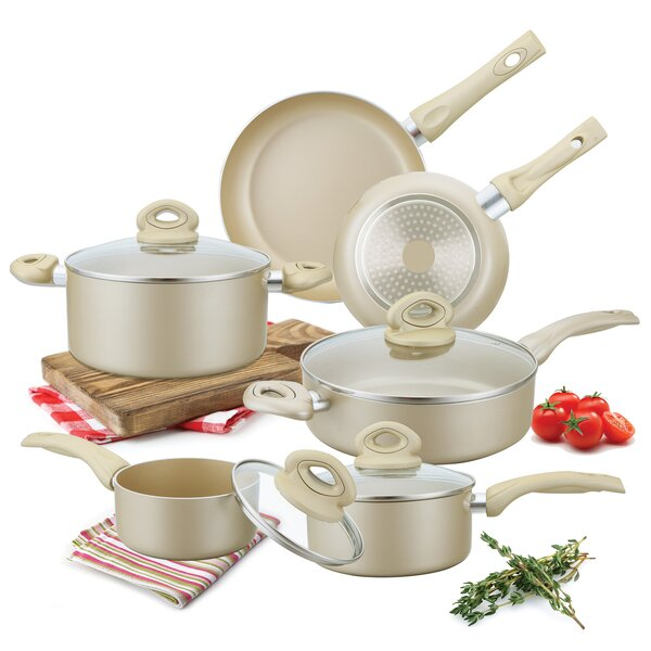 10 Piece Non-Stick Cookware Set by Culinary Edge