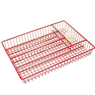 Buying Cartwright Iron Works 5 Compartments Cutlery Tray 1.5 H x 14.25 W x 10.25 D Drawer Organizer By Rebrilliant