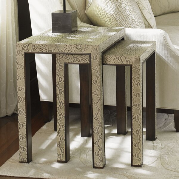 Outdoor Furniture Tower Place Nesting Tables