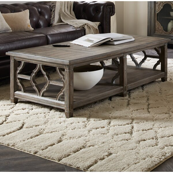 Modele Rectangle Coffee Table With Tray Top By Hooker Furniture