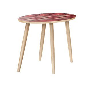 Huson End Table by Bungalow Rose