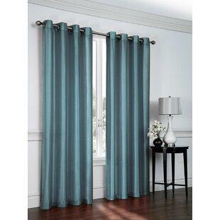 fancy plush design moorish tile curtain. Save to Idea Board Aqua Sheer Curtains  Wayfair