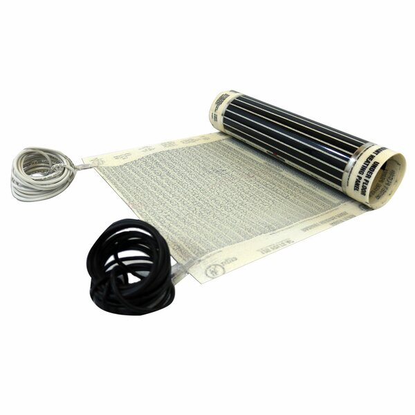 Retrofit Radiant 120V Underfloor Heating System Kit By MP Global Products