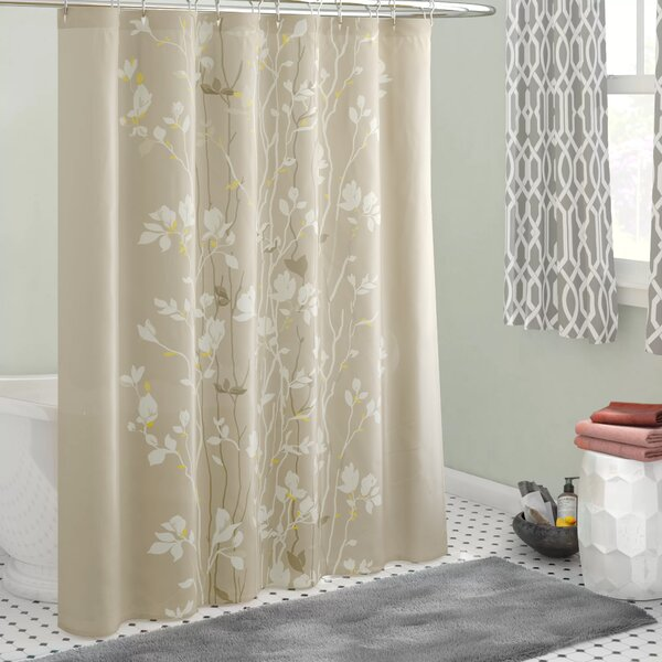 Herrin Shower Curtain by Three Posts