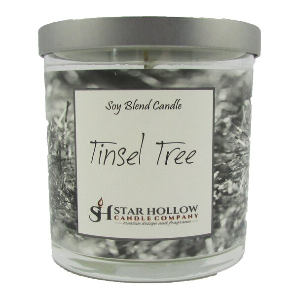 Tinsel Tree Scented Jar Candle by Star Hollow Candle Company