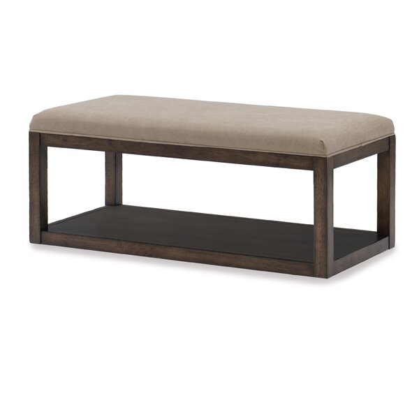 Maven Upholstered Bench by Gracie Oaks