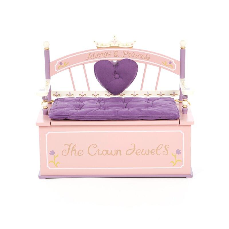 Wildkin Wildkin Kids Princess Bench Seat Storage & Reviews | Wayfair