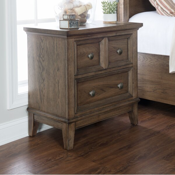 Mei 2 Drawer Nightstand by Charlton Home