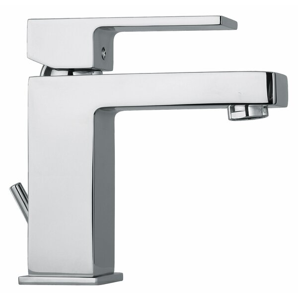 J12 Bath Series Single hole Bathroom Faucet with Drain Assembly by Jewel Faucets