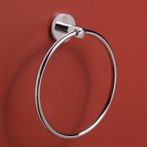 Erbe Wall Mounted Towel Ring by Rebrilliant