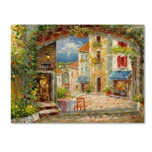 Capri Isle by Rio Painting Print on Wrapped Canvas by Trademark Fine Art