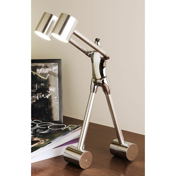 Forest Hills Be Open To Learn 18 Table Lamp by Zoomie Kids