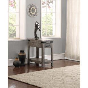 Plains Drawer End Table