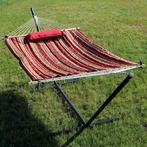 Damaris Spreader Bar Hammock with Stand by Freeport Park