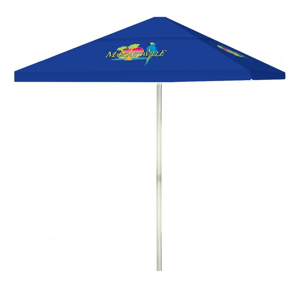 Margaritaville 6' Square Market Umbrella by Best of Times