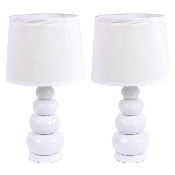Stacked Urchin 22 Table Lamp (Set of 2) by DEI