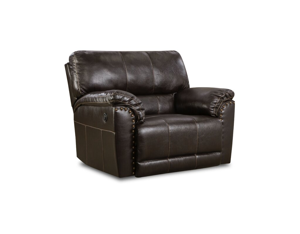 Colwyn Recliner by Simmons Upholstery Oversized Recliners
