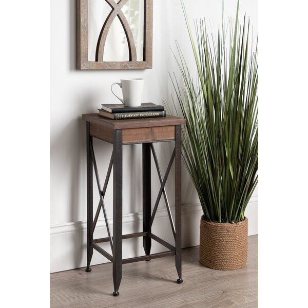 Sacha Side Plant Stand End Table by Gracie Oaks