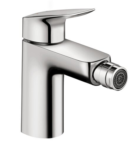 Logis Bidet Faucet with Drain Assembly by Hansgrohe