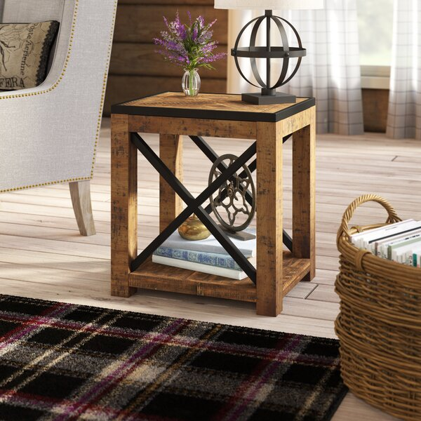 Battershell End Table By Laurel Foundry Modern Farmhouse