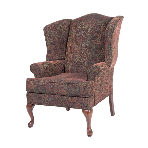 Chacko Wingback Chair by Charlton Home Charlton Home