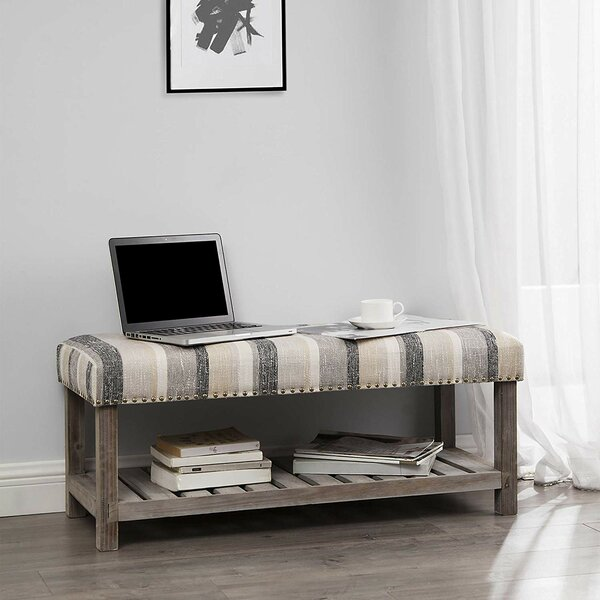 Costner Upholstered Bench by Gracie Oaks