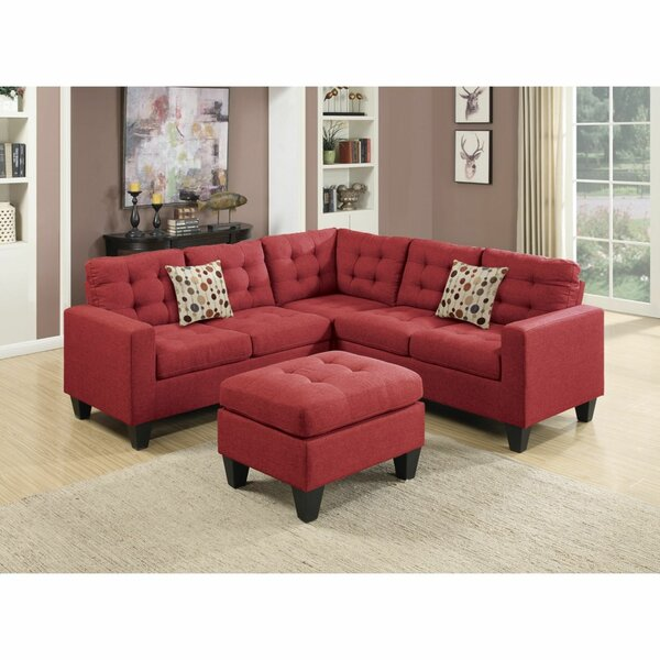 Wanliss Modular Sectional with Ottoman by Red Barrel Studio Red Barrel Studio