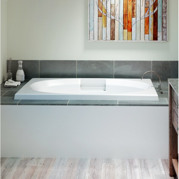 Nova Left-Hand 60 x 36 Drop in Whirlpool Bathtub by Jacuzzi®