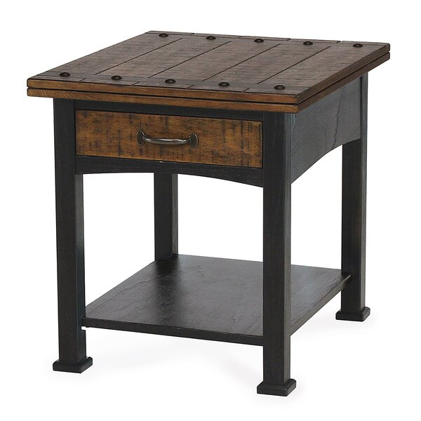 Braddy End Table With Storage By Winston Porter
