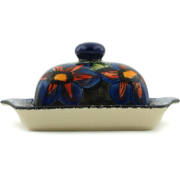 Midnight Glow Butter Dish by Polmedia