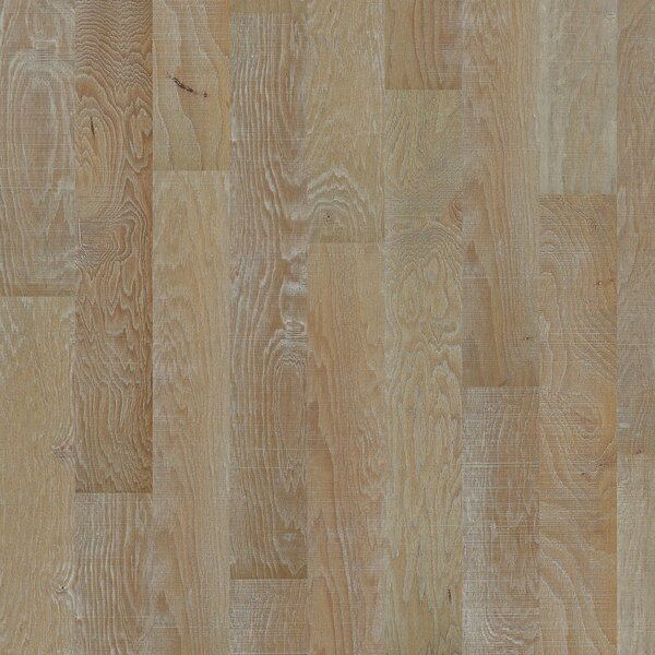 Hillsboro Random Width Engineered Hickory Hardwood Flooring in Picket Fence by Anderson Floors